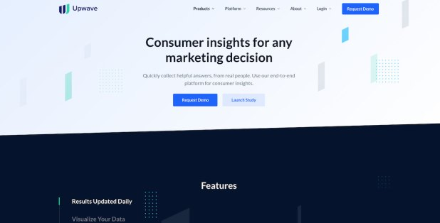 Upwave Instant Insights tool for market and consumer research