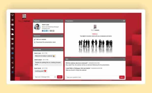 An example of webinar.net webinars