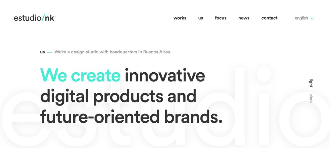 Tendencias de diseño web: modo claro