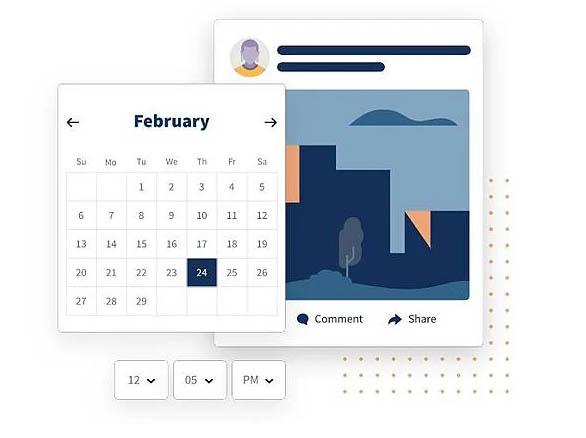 Herramientas que te ayudan a hacer un calendario de contenidos en rrss: Hootsuite