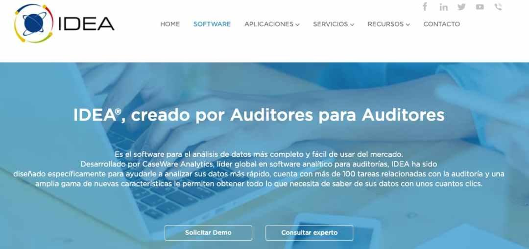 Software de auditoría de base de datos: IDEA