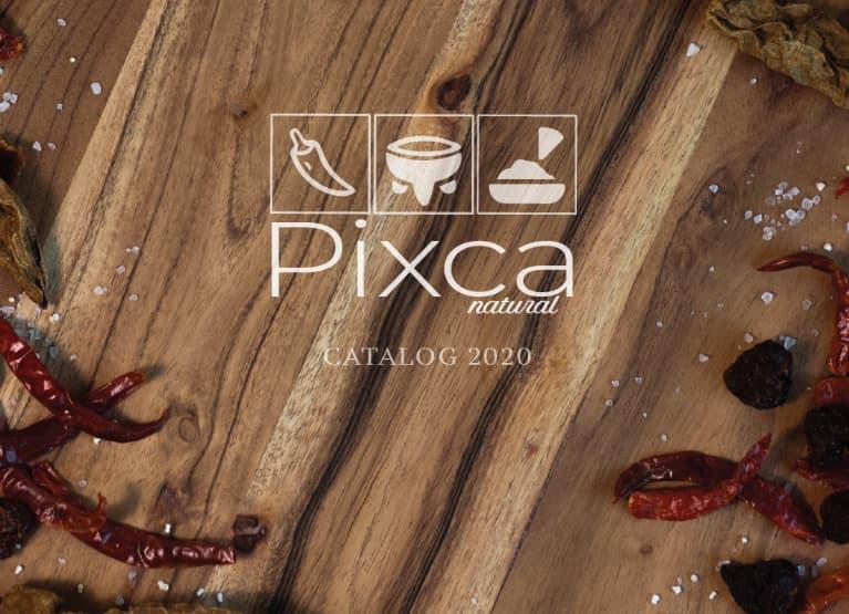 Ejemplo de un catálogo digital irresistible: Pixca