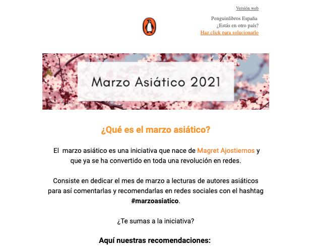 Penguin España, ejemplo de empresa con estrategia inbound marketing