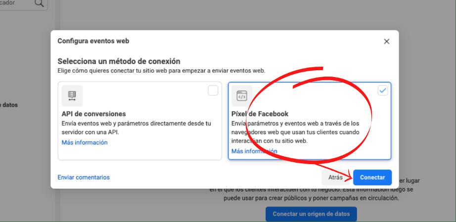 Cómo hacer retargeting en Facebook: píxel