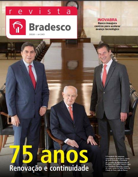Ejemplo de revista corporativa: Revista Bradesco