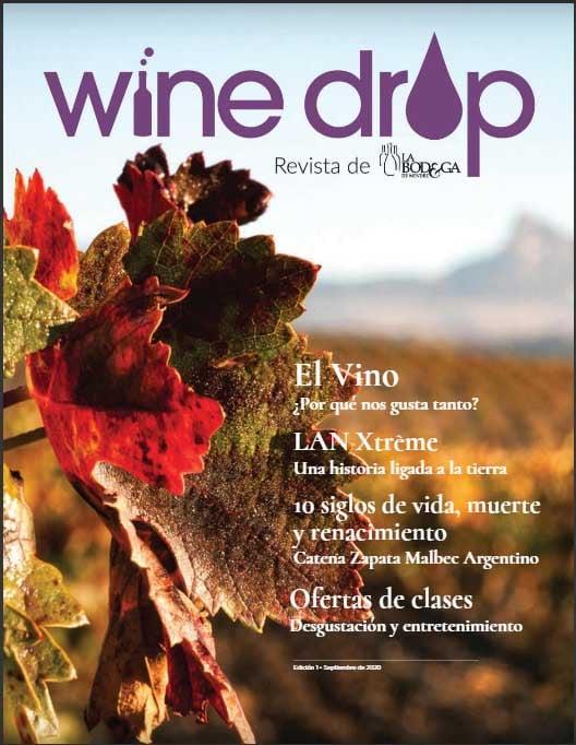Wine Drop, ejemplo de revista corporativa