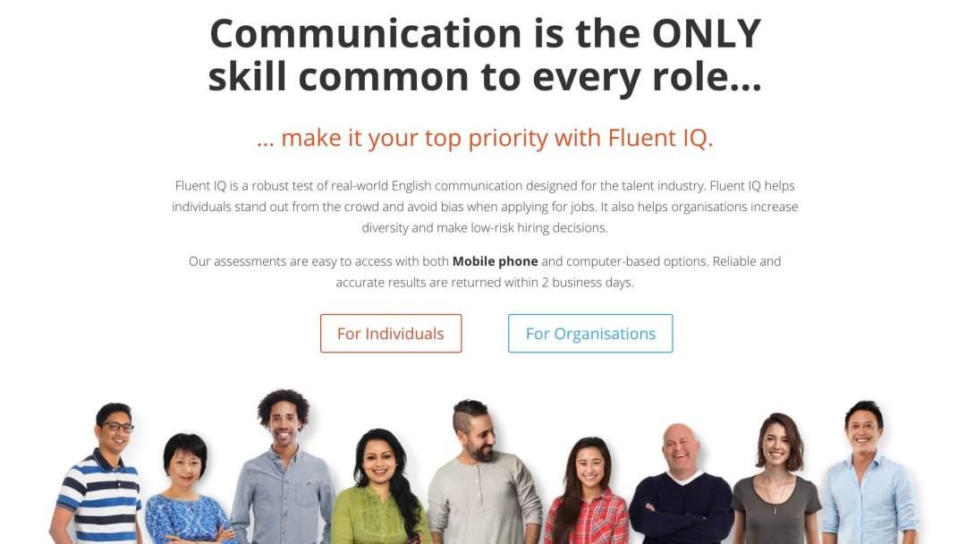 Herramientas de reclutamiento online: Fluent IQ