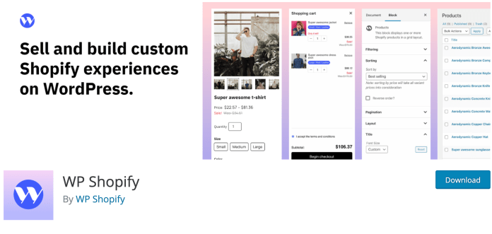 WP Shopify