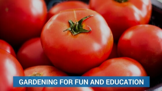Gardening for Fun and Education