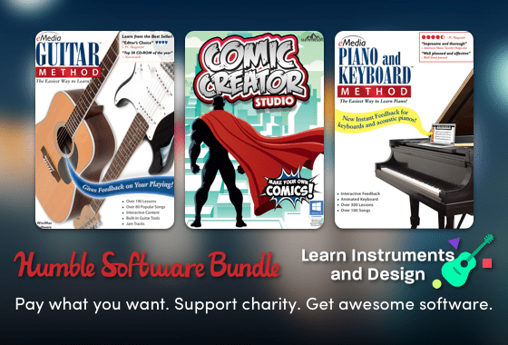 Humble Software Bundle: Learn Instruments and Design