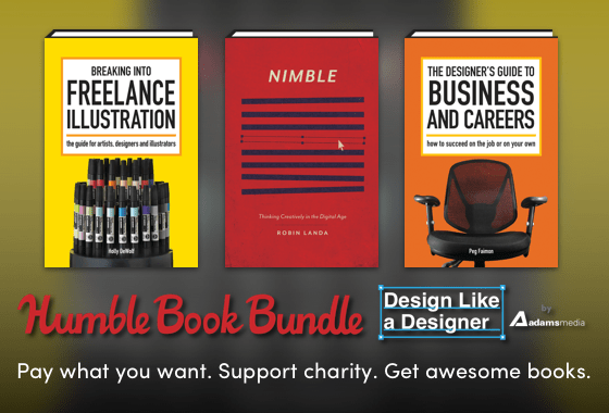 Humble Book Bundle: Design Like a Designer by Adams Media