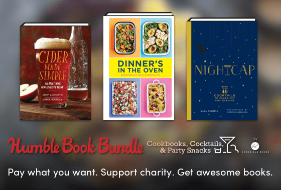 Humble Book Bundle: Cookbooks, Cocktails, & Party Snacks by Chronicle Books