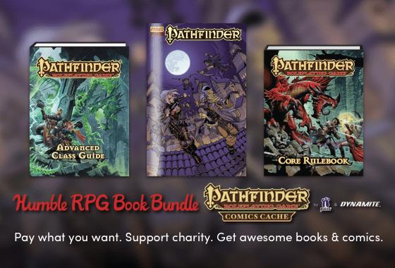 Humble RPG Book Bundle: Pathfinder Comics Cache by Paizo & Dynamite