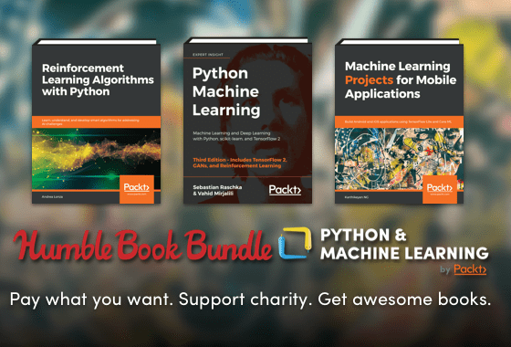 Humble Book Bundle: Python & Machine Learning by Packt
