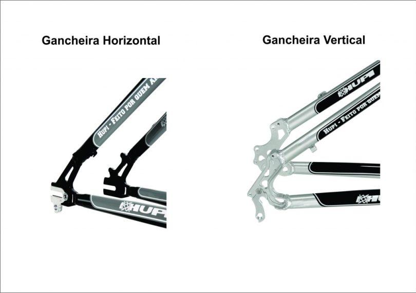 gancheiras Vertical horizontal
