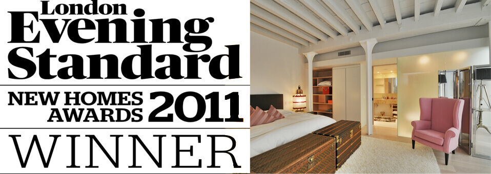 Tapestry Building Wins Best Conversion Small Developers Award 2011