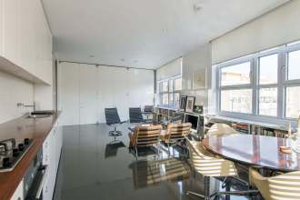 A bespoke masterpiece, a lateral loft with dual aspect views across Clerkenwell and the City, EC1
