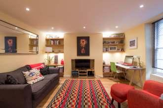 One bedroom duplex apartment, Judd Street, WC1