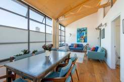 Three Bedroom Apartment in former Textiles warehouse built in the 1920's, The Roof Gardens, EC1