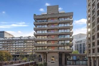 Barbican Brutal Beauty, Four Bedroom Penthouse, Seddon House, EC2