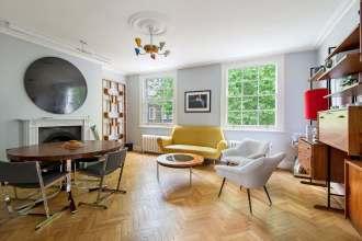 Delightful Garden Square Apartment, WC1
