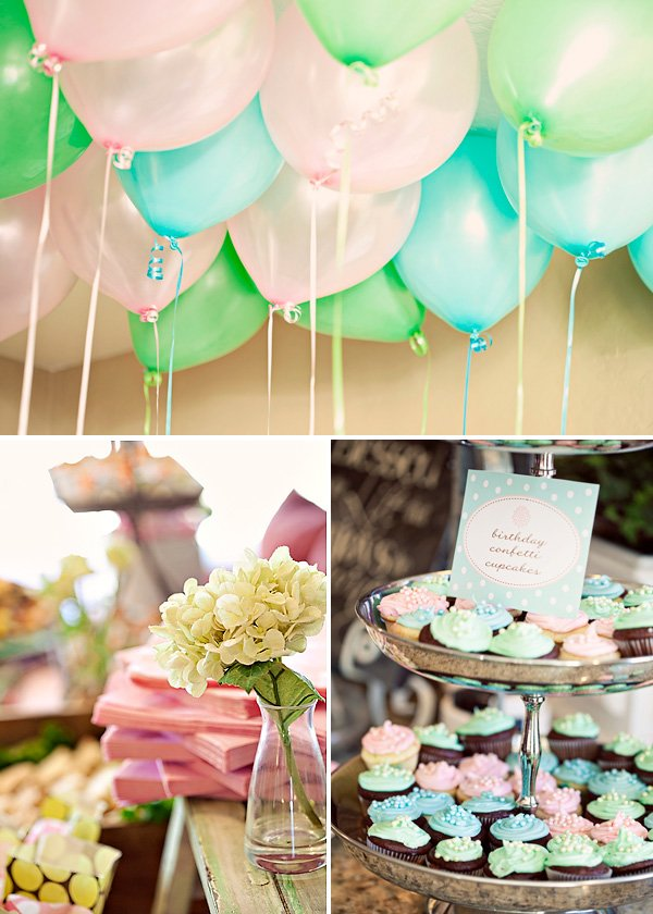 Sweet & Lovely Flower Garden Birthday Party Hostess With The