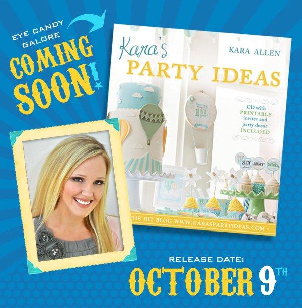 {sneak Peak!} Kara's Party Ideas Book  Hostess With The