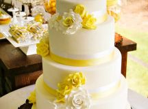 {Rustic & Sweet} Yellow Summer Wedding // Hostess with the ...