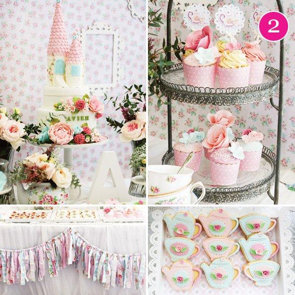 Party Of 5 Met Gala 21st Princess Tea Party Garden Baby Shower