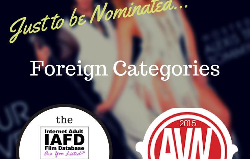 AVN Awards Nominations 2015: Foreign Categories