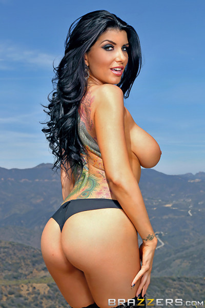 The stunning Romi Rain in Brazzers' 'In The Ass, At Last'