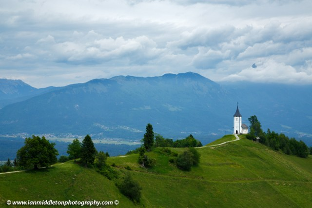 Jamnik church in Slovenia