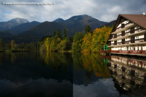 What does a polarizing filter do to water? Here is an example of the difference when applied
