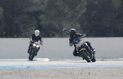 Mes 2 premières moto piste - XJ6 de 2009