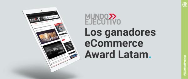 ICOMM MUNDO Ejecutivo ganadores award 2018