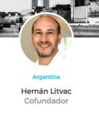 Hernan Litvac Cofundador ICOMMKT