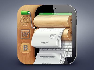 https://dribbble.com/shots/972326-My-Referats-iOS-icon