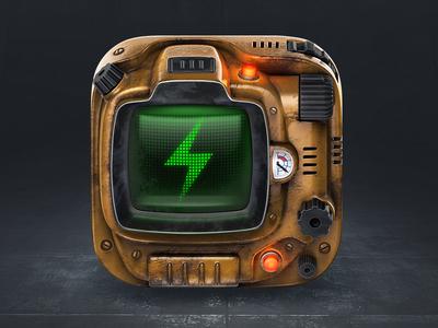 https://dribbble.com/shots/2482325-Fallout-fm-icon