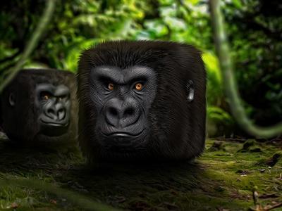 https://dribbble.com/shots/2078966-Monkey-Business
