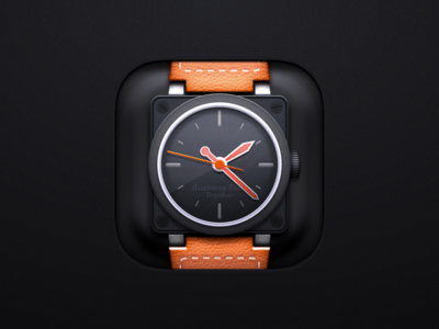 https://dribbble.com/shots/3068889-Business-app-icon-for-iOS