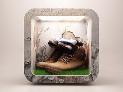 http://dribbble.com/shots/647315-Old-mountain-shoes