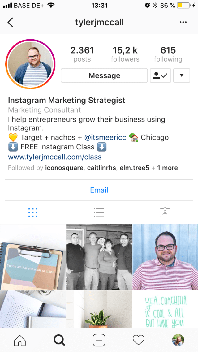 How to Write a Good Instagram Bio for Business (+29 tips)