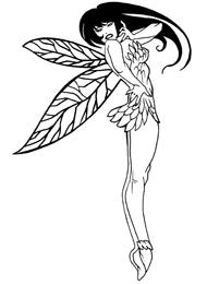 Disegni Tattoo  Fate e Folletti