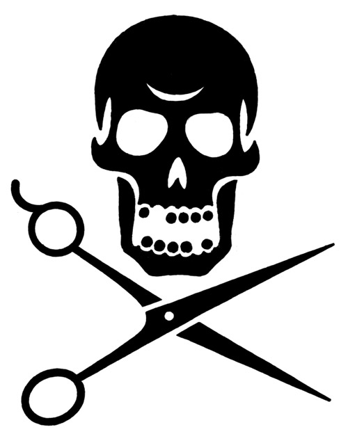 Contemporary Skulls Tattoo Flash Drawings