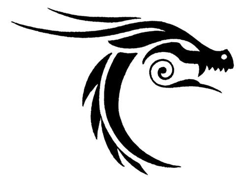 Tattoo flash Tribal animals