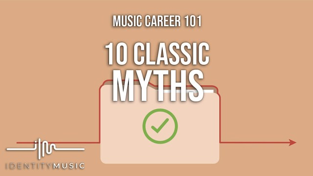 Music Career Myths