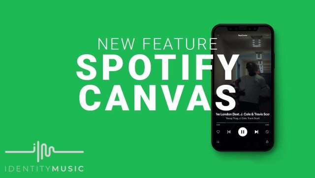 Spotify Canvas Feature Example
