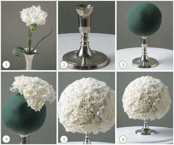 DIY Pomander Ball Centerpieces How To's   Sacramento Wedding Florist