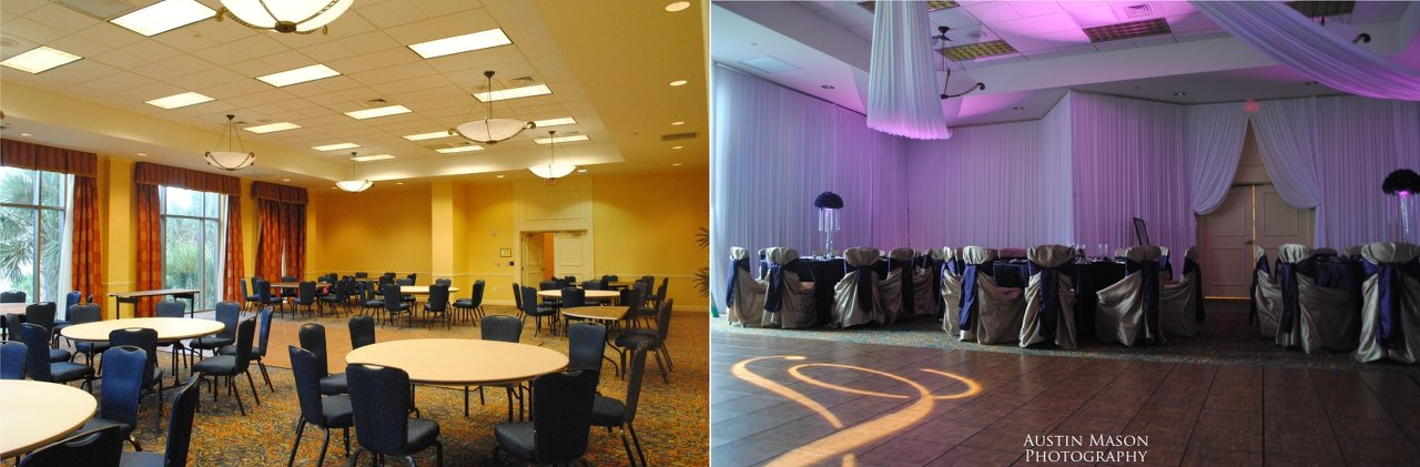 Bay Area Uplighting Venue Banquet Hall San Jose Cheap Led Lights