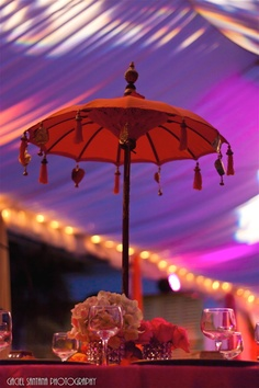 Indian Wedding Decor Ideas  Mehndi  Sangeet  Umbrella